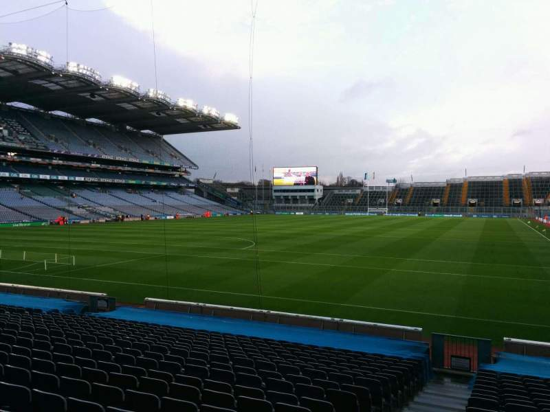 Seating view for Croke Park Section 315 Row v Seat 14