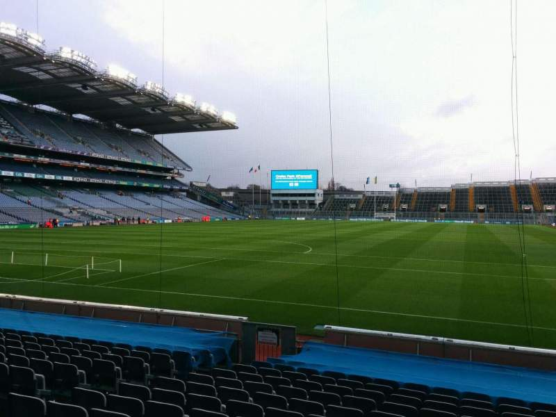 Seating view for Croke Park Section 316 Row p Seat 6