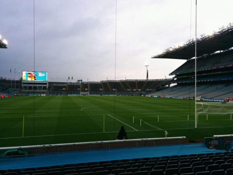 Seating view for Croke Park Section 320 Row p Seat 16