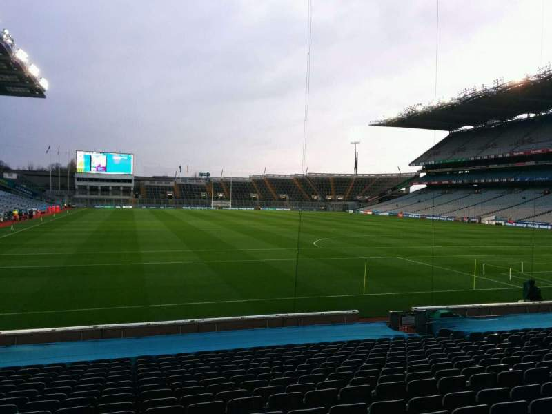 Seating view for Croke Park Section 321 Row u Seat 16