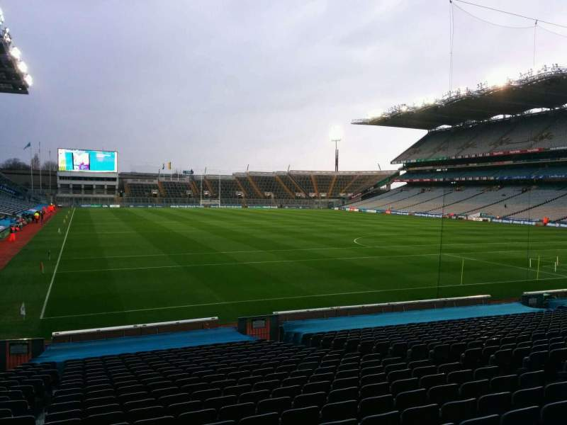 Seating view for Croke Park Section 327 Row y Seat 27