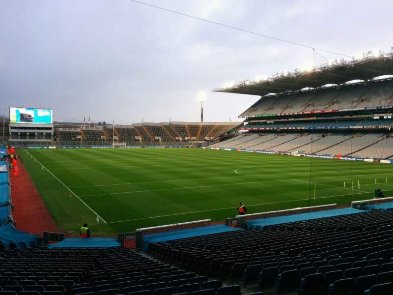 Seating view for Croke Park Section 322 Row ee Seat 21