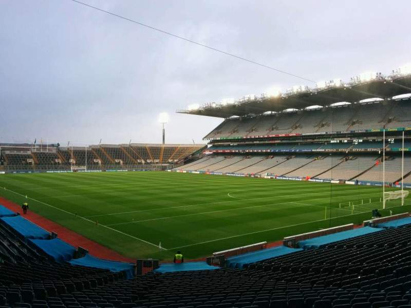 Seating view for Croke Park Section 323 Row hh Seat 21