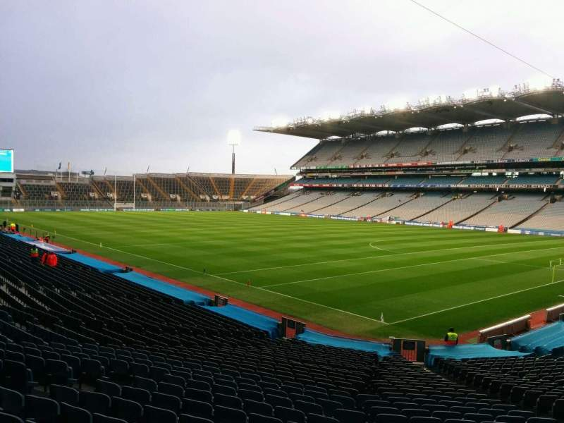 Seating view for Croke Park Section 324 Row gg Seat 22