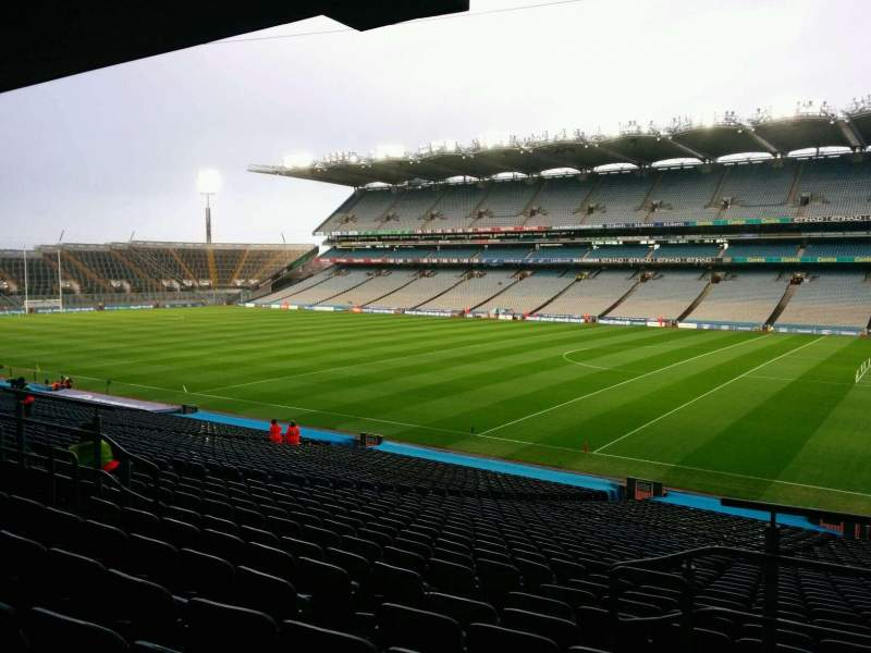 Seating view for Croke Park Section 326 Row rr Seat 26