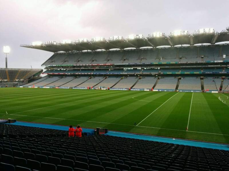 Seating view for Croke Park Section 327 Row dd Seat 21