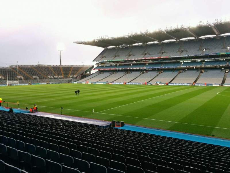 Seating view for Croke Park Section 328 Row y Seat 19