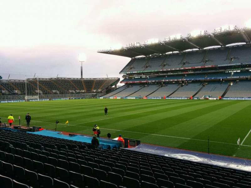 Seating view for Croke Park Section 329 Row s Seat 25