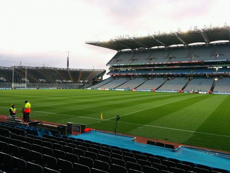 Seating view for Croke Park Section 330 Row n Seat 20