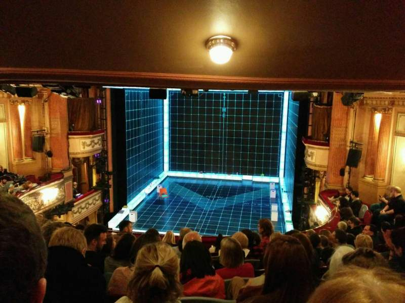 Seating view for Gielgud Theatre Section dress circle Row j Seat 12