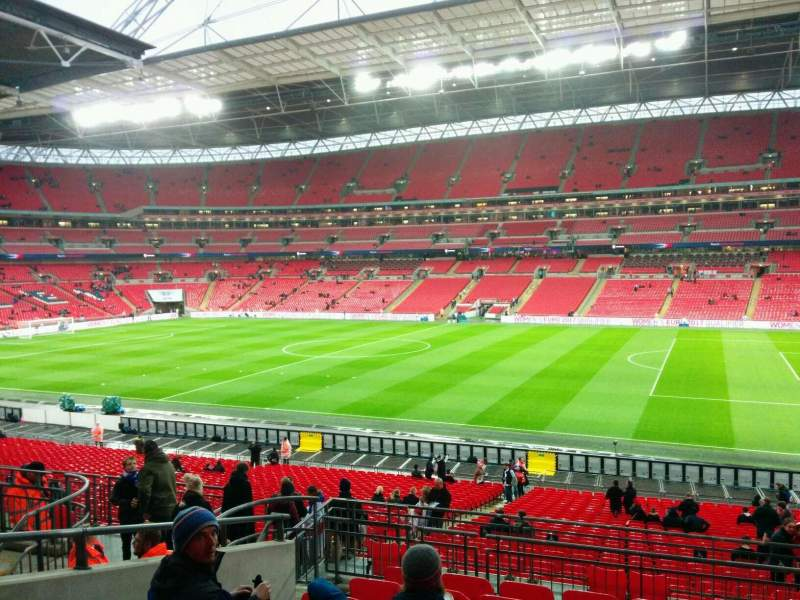 Seating view for Wembley Stadium Section 119 Row 39 Seat 239