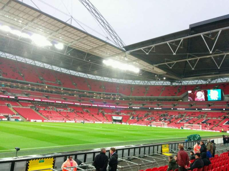 Seating view for Wembley Stadium Section 125 Row 10 Seat 82