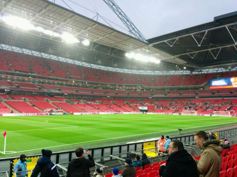 Seating view for Wembley Stadium Section 127 Row 11 Seat 139