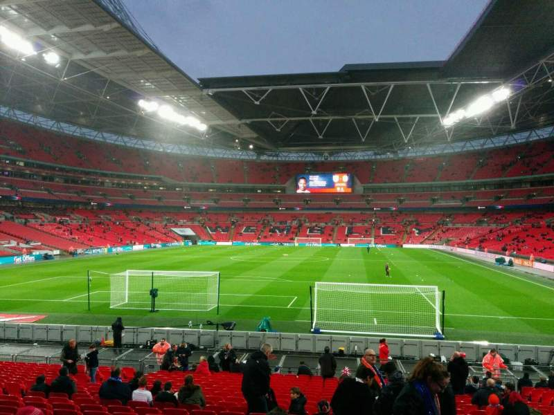 Wembley Stadium, section: 132, row: 24, seat: 290