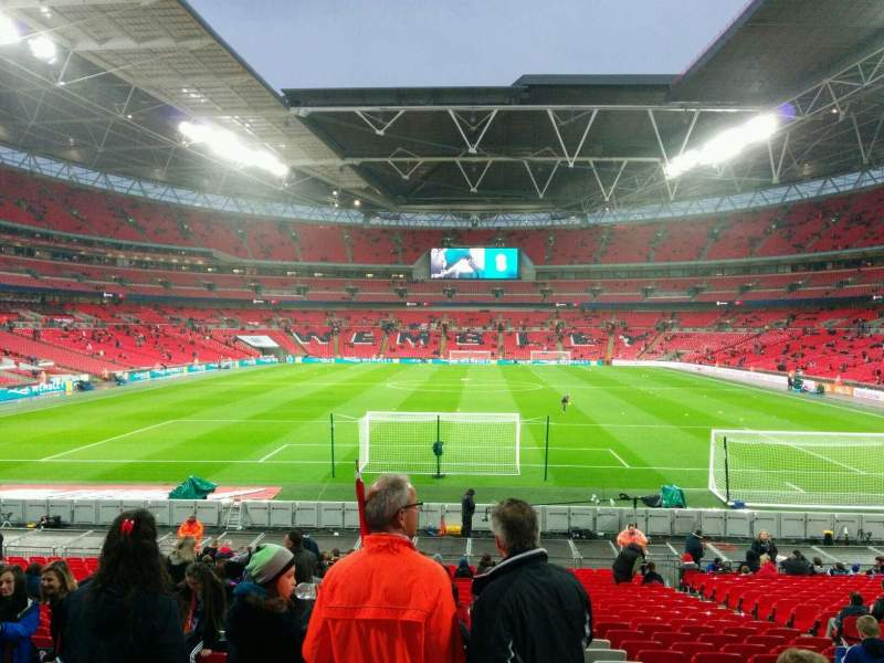 Seating view for Wembley Stadium Section 133 Row 26 Seat 316