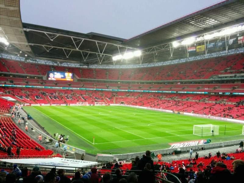 Seating view for Wembley Stadium Section 137 Row 41 Seat 109