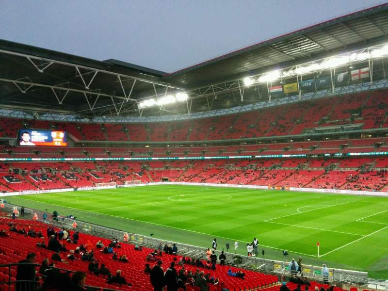 Seating view for Wembley Stadium Section 139 Row 37 Seat 174
