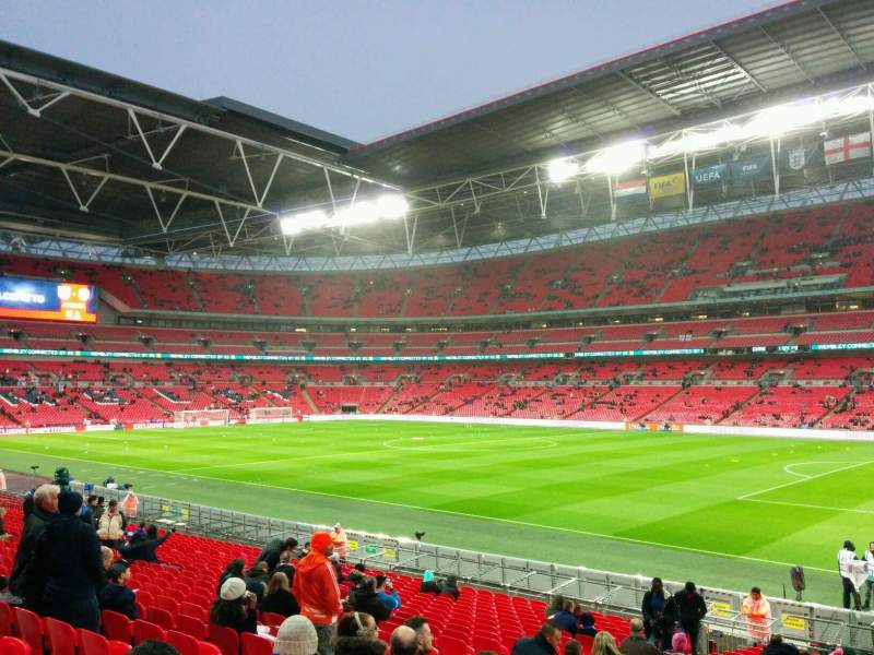 Seating view for Wembley Stadium Section 140 Row 23 Seat 209