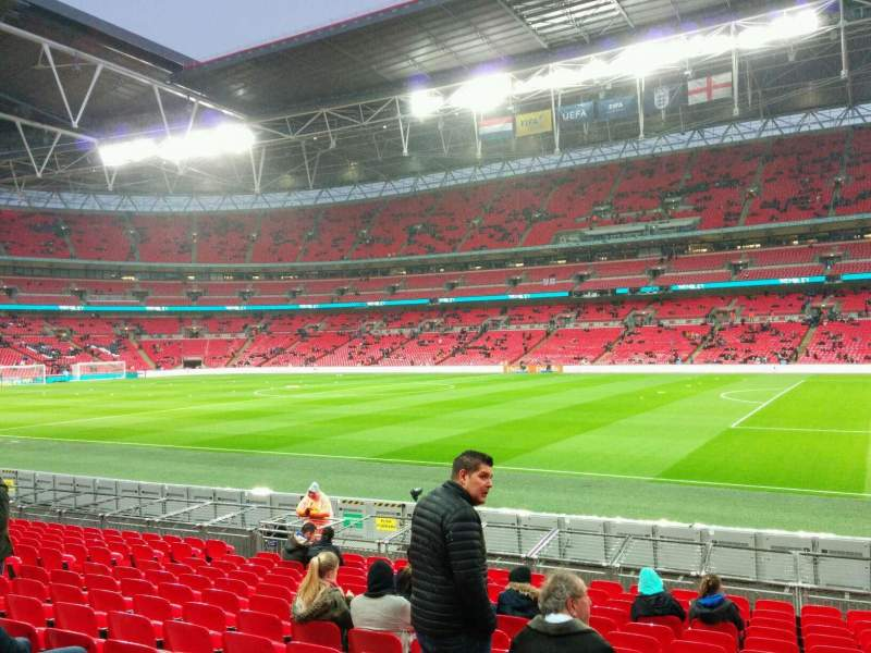 Seating view for Wembley Stadium Section 141 Row 15 Seat 230