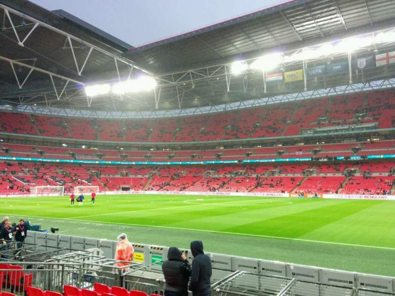 Seating view for Wembley Stadium Section 142 Row 9 Seat 260