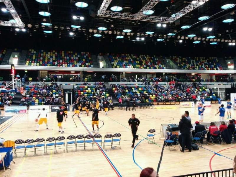 Seating view for Copper Box Section 105 Row 6 Seat 99