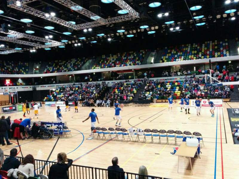 Seating view for Copper Box Section 103 Row 7 Seat 52