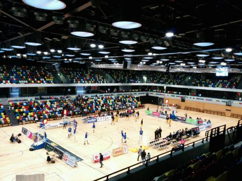 Seating view for Copper Box Section 212 Row 16 Seat 136