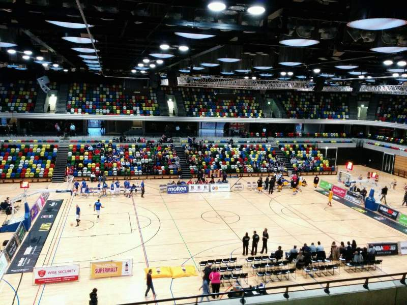 Seating view for Copper Box Arena Section 211 Row 17 Seat 99