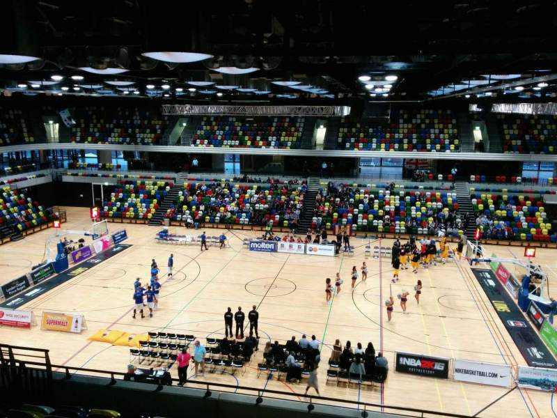 Seating view for Copper Box Arena Section 211 Row 19 Seat 65