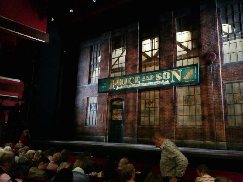 Seating view for Adelphi Theatre Section stalls Row g Seat 7