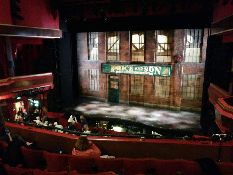 Seating view for Adelphi Theatre Section dress circle Row f Seat 9