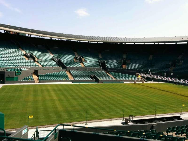 Seating view for Wimbledon, Court No. 1 Section 32 Row e Seat 281