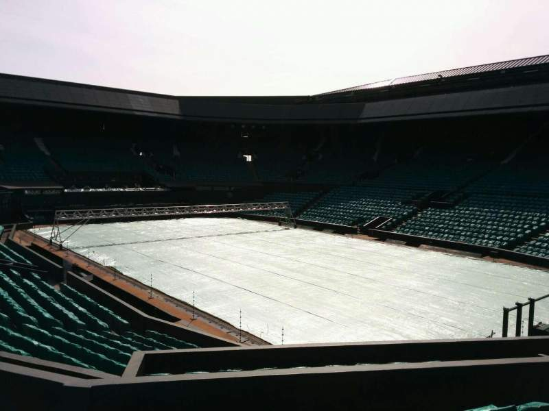 Seating view for Wimbledon, Centre Court Section 209 Row f