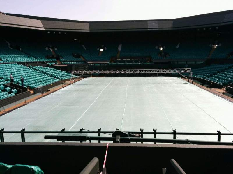 Seating view for Wimbledon, Centre Court Section 206 Row b