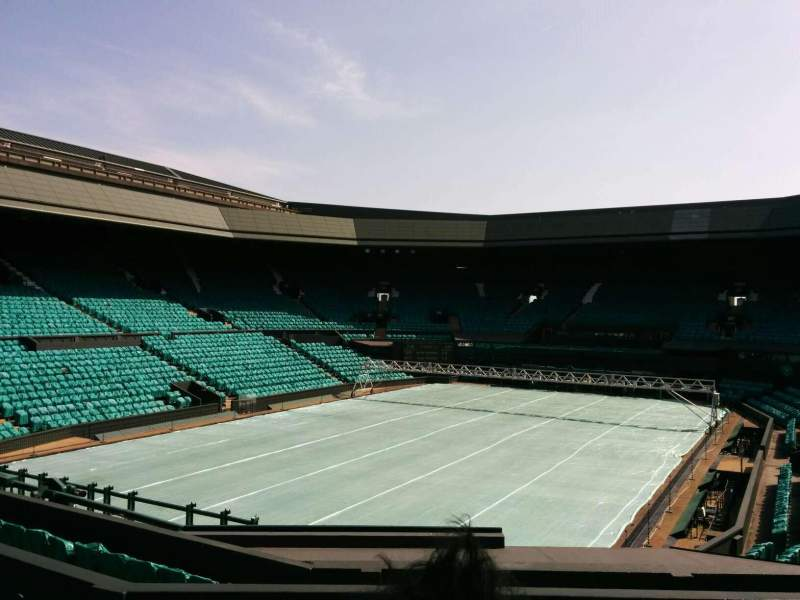 Seating view for Wimbledon, Centre Court Section 205 Row f Seat 157