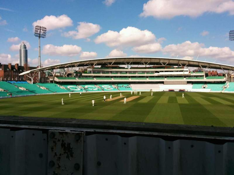 Seating view for Kia Oval Section middle pavilion Row a Seat 69