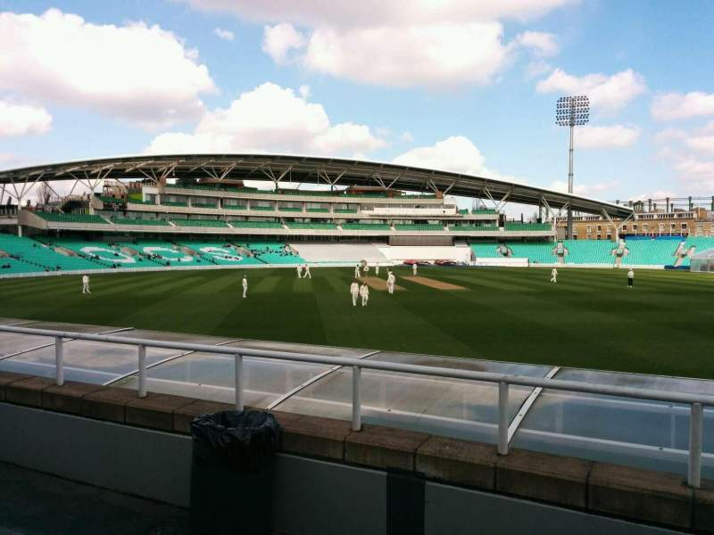 Seating view for Kia Oval Section mp Row c Seat 45