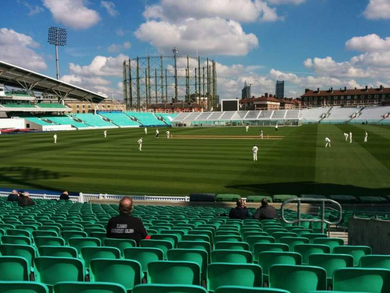 Seating view for Kia Oval Section 1 Row 24 Seat 33
