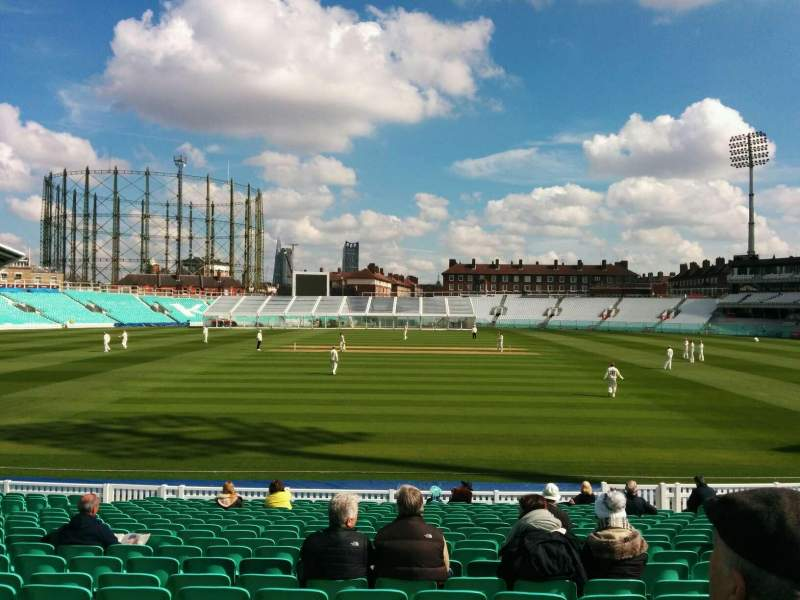 Seating view for Kia Oval Section 2 Row 21 Seat 71