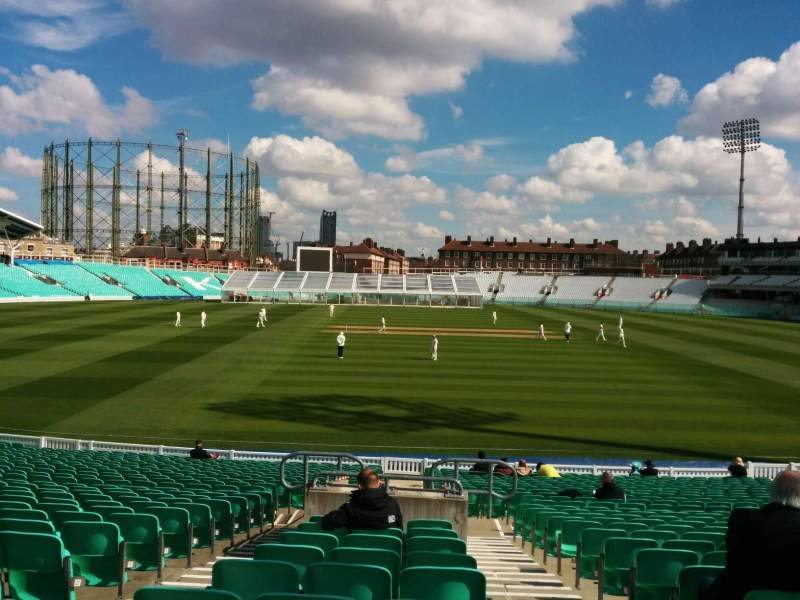 Seating view for Kia Oval Section 3 Row 28 Seat 86