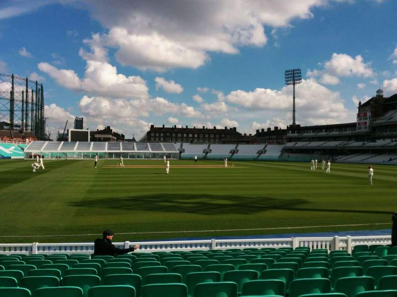 Seating view for Kia Oval Section 3 Row 13 Seat 99