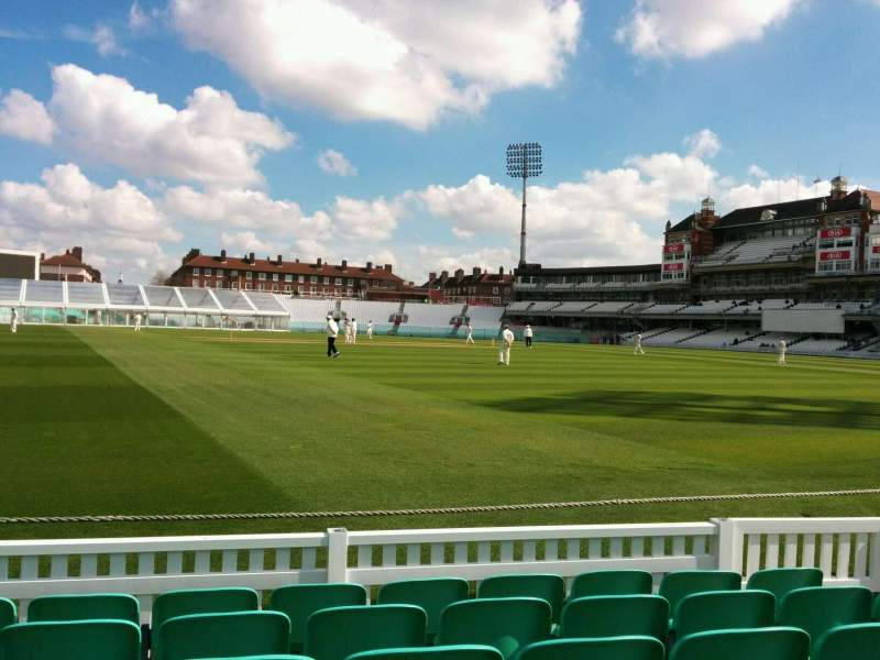 Seating view for Kia Oval Section 5 Row 6 Seat 131