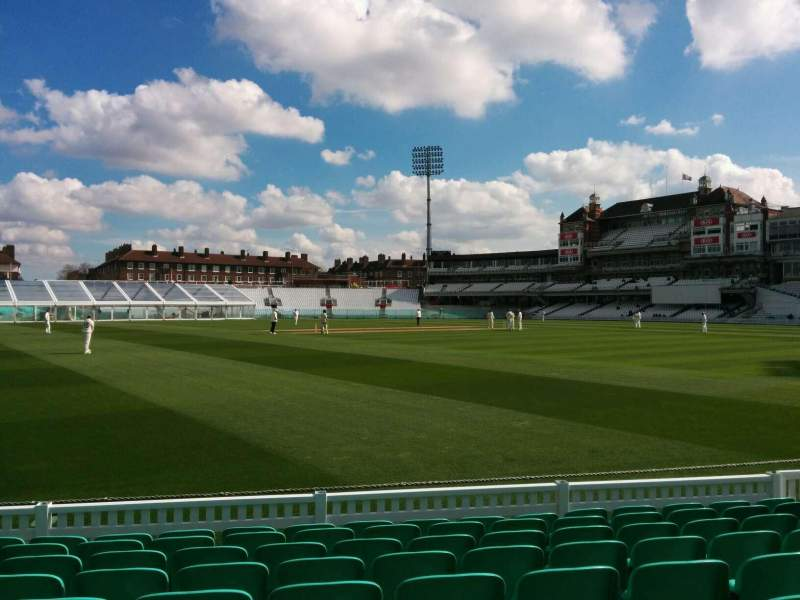 Seating view for Kia Oval Section 6 Row 9 Seat 169