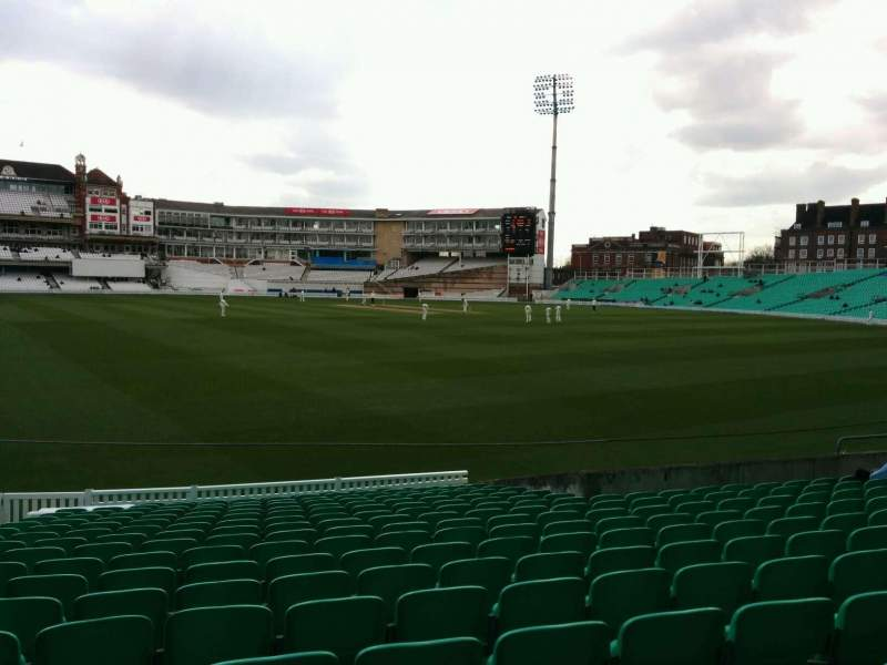 Seating view for Kia Oval Section 14 Row 18 Seat 455