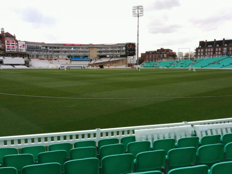 Seating view for Kia Oval Section 15 Row 7 Seat 485