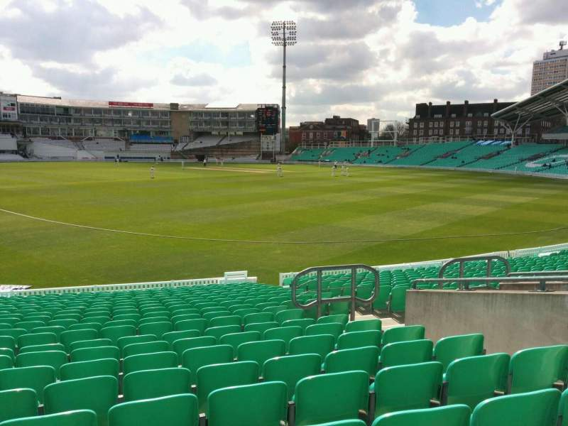 Seating view for Kia Oval Section 15 Row 22 Seat 506