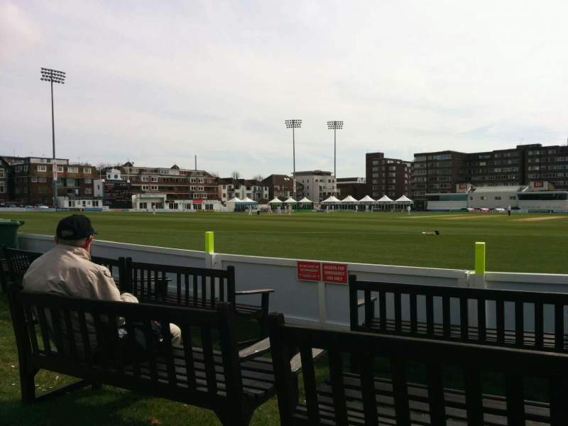 Seating view for County Cricket Ground (Hove) Section ga