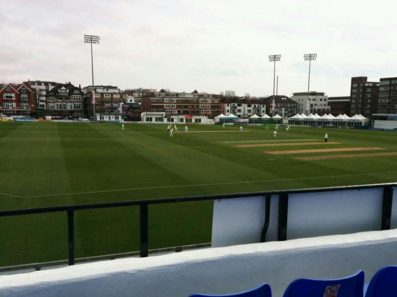 Seating view for County Cricket Ground (Hove) Section L Row c Seat 41