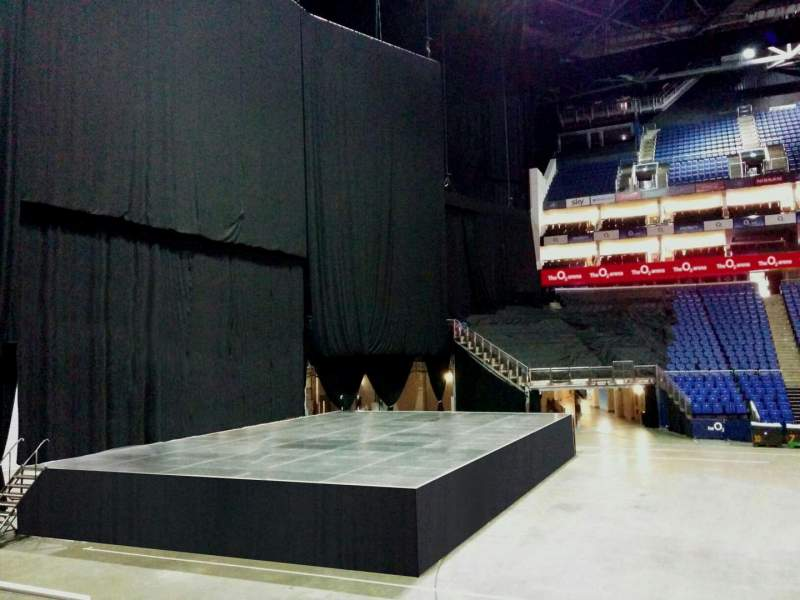 Seating view for The O2 Arena Section 101 Row k Seat 21