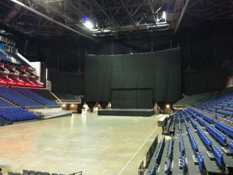 Seating view for The O2 Arena Section 108 Row k Seat 252